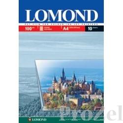 LOMOND 0708411 A4 пленка прозрачная односторонняя, 100мкр  (10 листов)