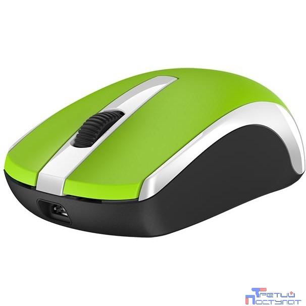 Genius ECO-8100 Green, 2.4Ghz, датчик Blue Eye, 800-1600 dpi  [31030004404]