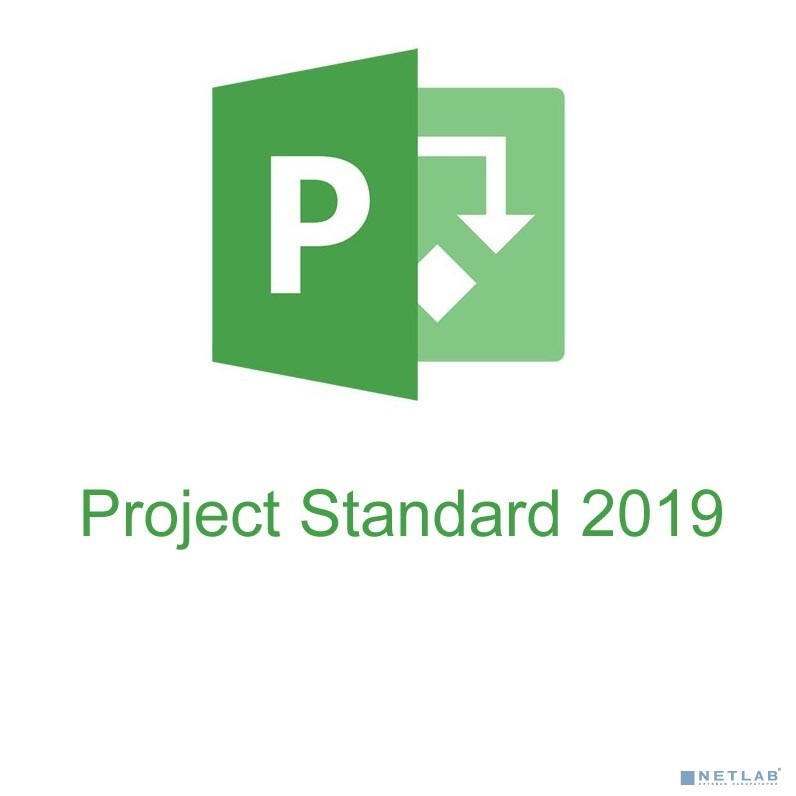 076-05775 Microsoft Project 2019 32/64 Russian CEE Only EM DVD