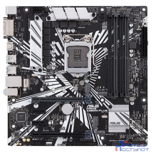 ASUS PRIME Z390M-PLUS, LGA 1151v2, Intel Z390, mATX, Ret