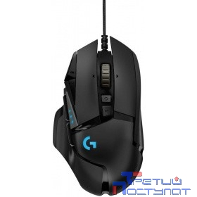 910-005470  Logitech G502 Laser Gaming Mouse RGB Tunable 16000dpi USB HERO