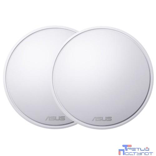 ASUS Lyra Mini (MAP-AC1300) (2-PK) Система MESH-WiFi для больших квартир и домов (комплект 2 шт)