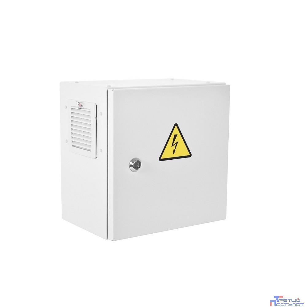 ЦМО! Шкаф ЭКОНОМ уличный всепогодный настенный укомплектованный (В500 x Ш500 x Г300), комплектация T1-IP54 (С нагревом и охлаждением)