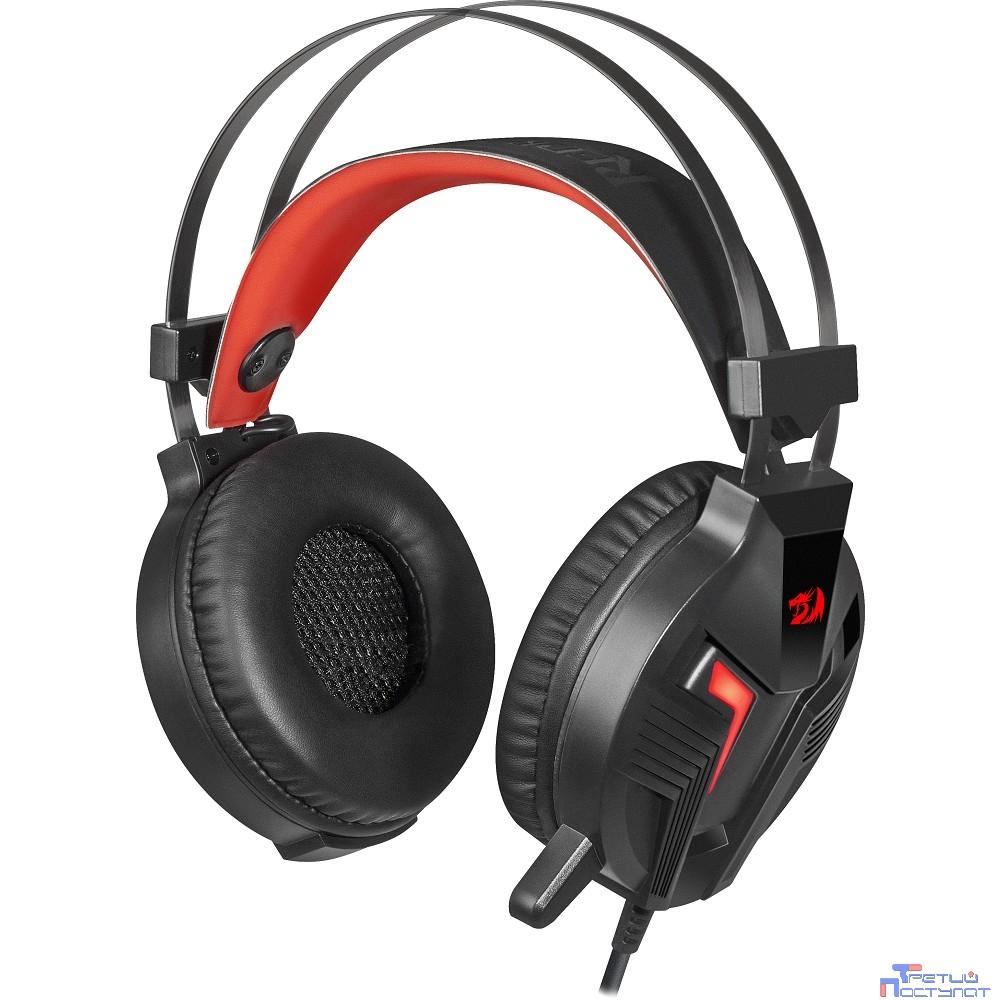 Defender Memecoleous черный+красный, кабель 1.8 м Redragon [75096]
