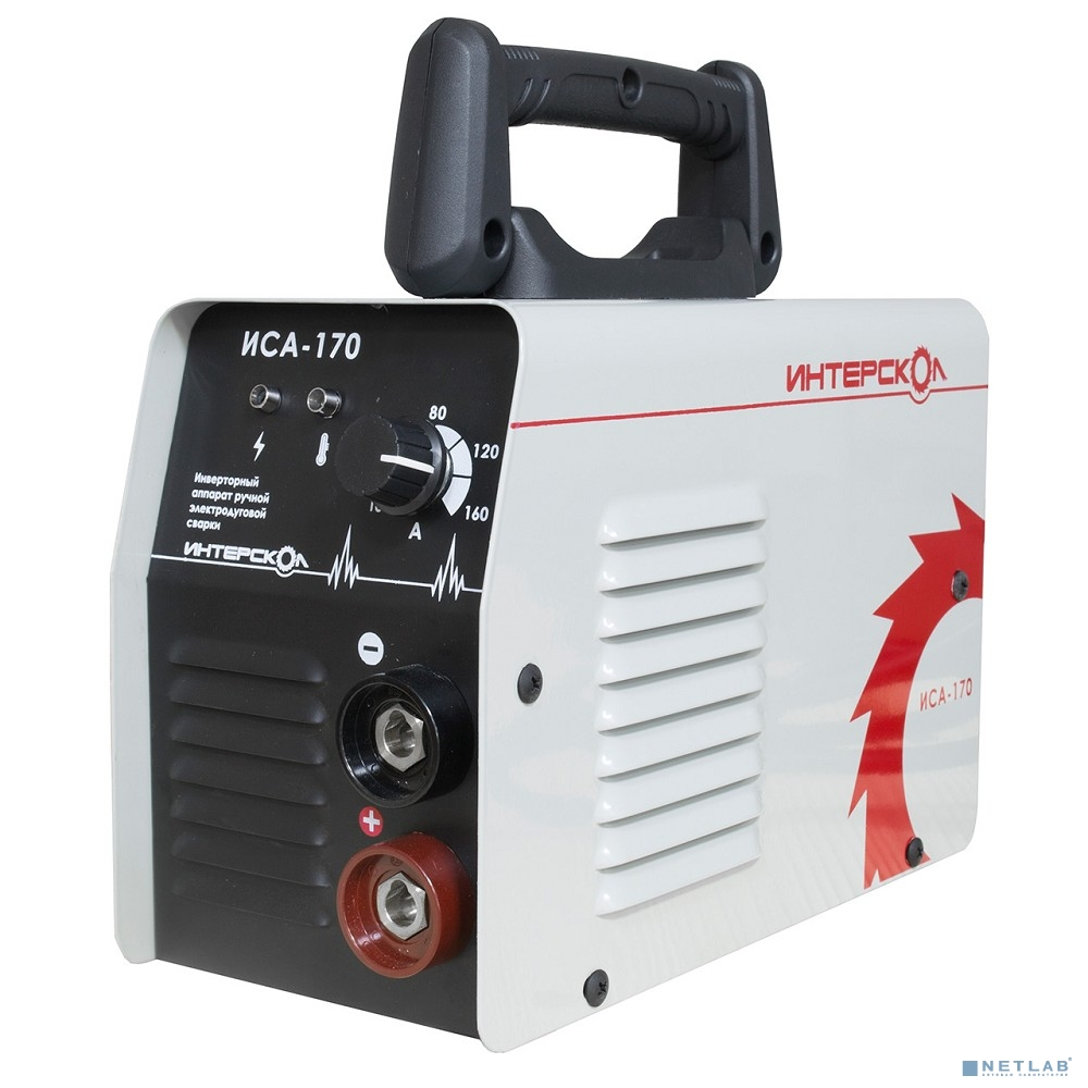 ИНТЕРСКОЛ  ИСА-170 Аппарат инверторный ручной электродуговой сварки ММА, 23 ФЕВРАЛЯ  [432.1.0.23]