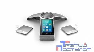 YEALINK CP960-WirelessMic IP конференц-телефон (комплект с двумя беспроводными DECT микрофонами CPW90)