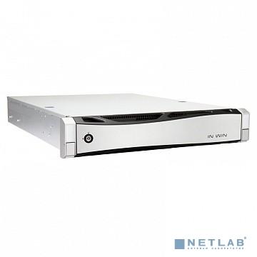 Корпус Inwin IW-RS208-02M EP1A5501B(500W Acbel Gold) / USB3.0*2 / NMB 8038mm5500RPM*4 / SAS 12G/8bay / SL28'' [6131834]