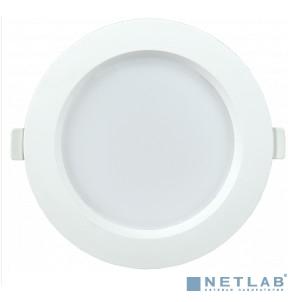 Iek LDVO0-1701-09-3000-K01 Светильник LED ДВО 1701 белый круг 9Вт 3000K IP40 {пластик. корпус, диам 126 мм}