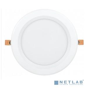 Iek LDVO0-1804-40-4000-K01 Светильник LED ДВО 1804 PRO белый круг 40Вт 4000K IP40 {алюм. корпус, диам 225 мм}