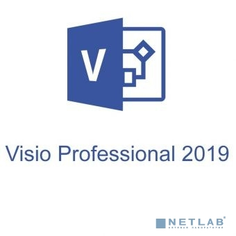 D87-07414 Microsoft Visio Pro 2019 32/64 Russian Central/Eastern Euro Only EM DVD