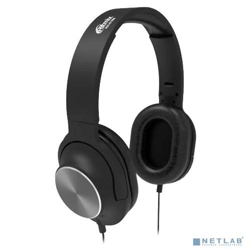 RITMIX RH-610М Black {105 дБ +/- 3 дБ; Чувствительность микрофона: -58 дБ +/- 2 дБ; Номинальная мощность 100мВ;Направление микрофона: всенаправленный; Сопротивление микрофона: низкое;Кабель: 1,2 м +/-