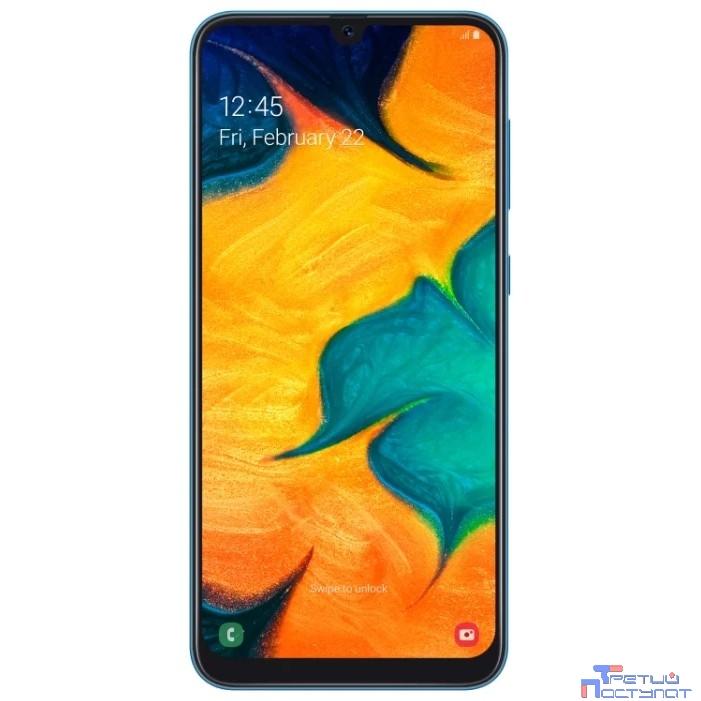 Samsung Galaxy A30 (2019) SM-A305F DS синий SM-A305FZBUSER