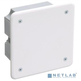 Iek UKT11-092-092-040 Коробка КМ41001 распаячная для твердых стен 92x92x45 (с саморезами, с крышкой)