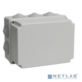 Iek UKO10-190-140-120-K41-55 Коробка КМ41246 распаячная для о/п 190х140х120 мм IP55 (RAL7035, 10 гермовводов)