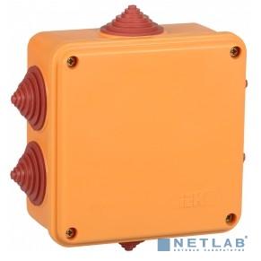 IEK UKF30-100-100-050-2-4-09 Коробка расп. огн. ПС 100х100х50мм 2P 4мм2 IP55 6 вв.