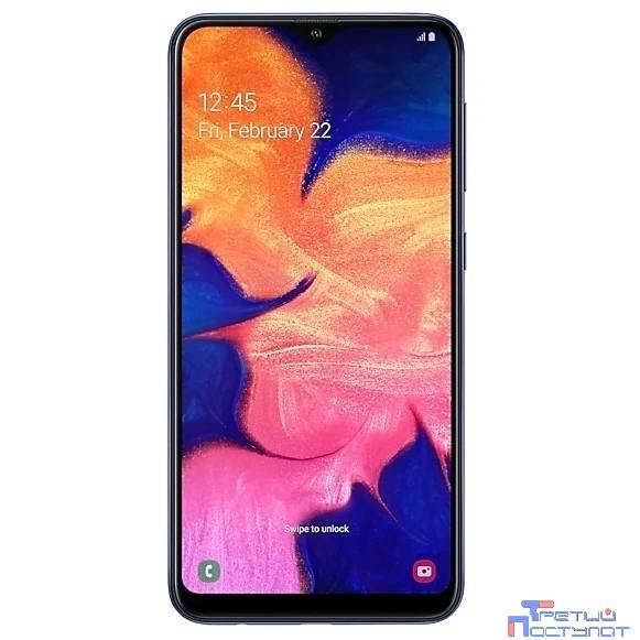 Samsung Galaxy A10  SM-A105F/DS blue (синий) 32Гб [SM-A105FZBGSER]