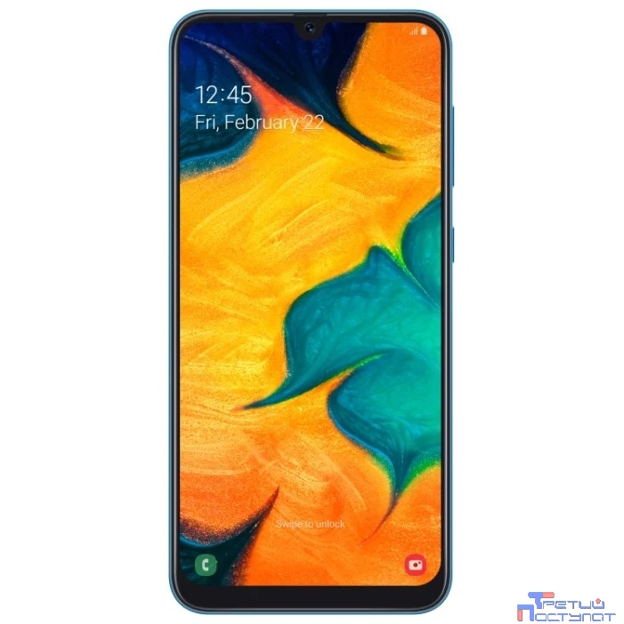 Samsung Galaxy A30 (2019) SM-A305FN/DS blue (синий) 64Гб