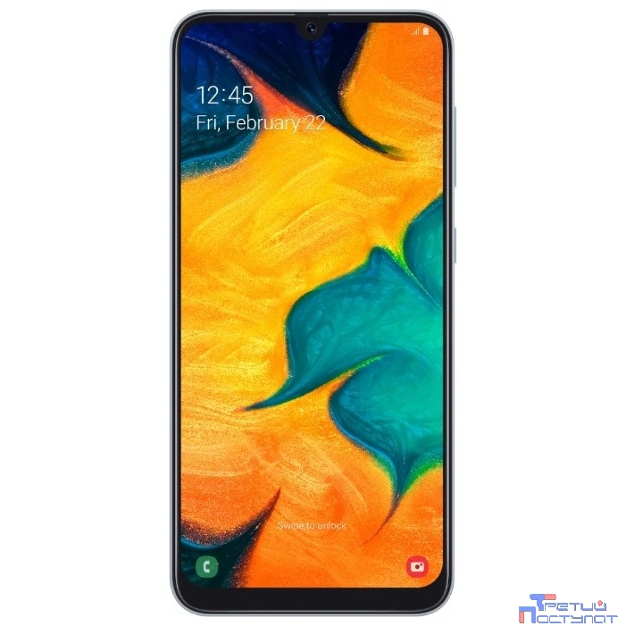 Samsung Galaxy A30 SM-A305FN/DS white (белый) 64Гб