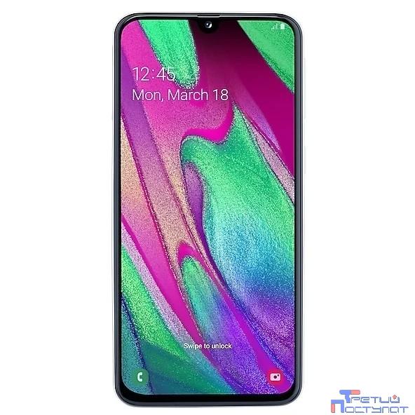Samsung Galaxy A40 (2019) SM-A405FM/DS white (белый) 64Гб