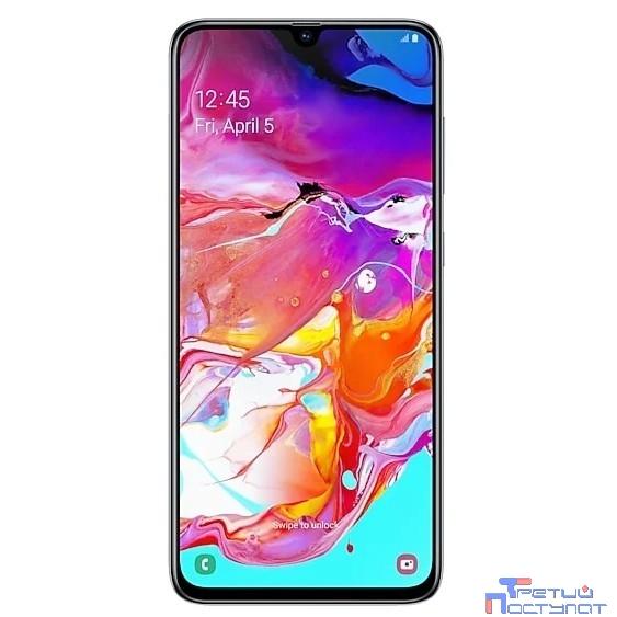 Samsung Galaxy A70 (2019) SM-A705FN/DSM white(белый) 128Гб [SM-A705FZWMSER]
