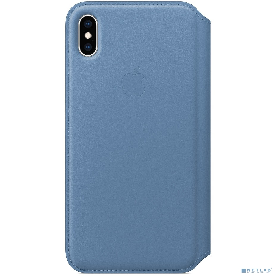 MVFT2ZM/A Apple iPhone XS Max Leather Folio - Cornflower