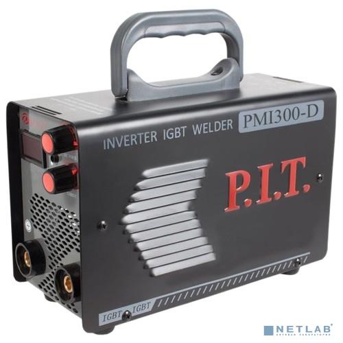 P.I.T Сварочный инвертор PMI300-D IGBT  .(300 А,ПВ-60,1,6-5 мм,от пониженного 170,гор.старт,дисплей) [PMI300-D]