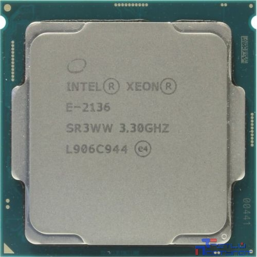 CPU Intel Xeon E-2136 OEM {3.3ГГц, 12Мб, Socket1151}