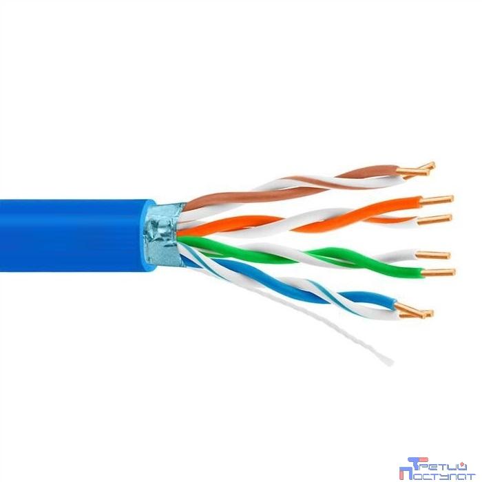 5bites FS5505-305A-BL Кабель FTP / SOLID / 5E / 24AWG / CCA / PVC / BLUE / 305M