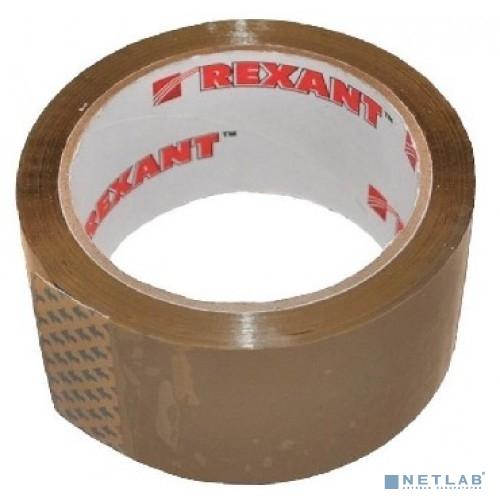 Скотч упаковочный 48мм x 66м., 50мкм, коричневый REXANT (упаковка 6шт.)
