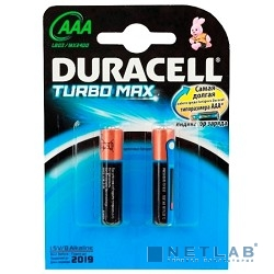 DURACELL LR03-2BL TURBO (MAX) AAA (MX2400) (2 шт. в уп-ке)
