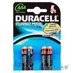 DURACELL LR03-4BL TURBO (MX2400) AAA (4 шт. в уп-ке)