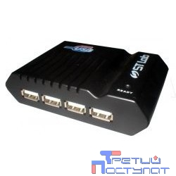 ST-Lab U181 RTL {Hub 4ports, USB 2.0, W/Power}