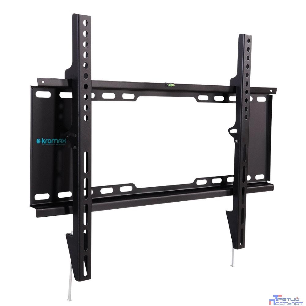 "Kromax IDEAL-101 black {для LED/LCD TV 32""-90"", max 20 кг, настенный, 0 ст свободы, от стены 30 мм, max VESA 600x400 мм}"