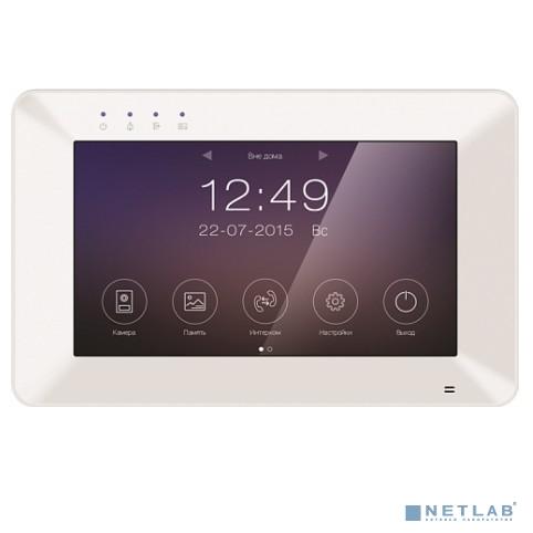 Tantos Rocky Wi-FI Монитор цветного видеодомофона 7 дюймов, сенсорный экран, 800x480, hands free, Wi-Fi, подключение 2-х вызывных панелей с возможностью связи вызывных панелей через приложения.