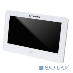 Tantos NEO Slim (white) Монитор видеодомофона, цв. TFT LCD 7'', сенсорный экран, hands-free, 2 вх. для вызывных панелей, 2 вх. для видеокамер, до 4шт. в параллель, память кадры/ролики на SD, до 32ГБ