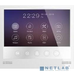 Tantos Selina M Монитор цветного видеодомофона 7 дюймов с сенсорными кнопками, разрешение 800х480, hands free, подключение 2-х вызывных панелей, 2-х видеокамер, до 4-х  мониторов в параллель