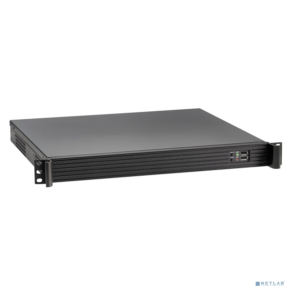 Exegate EX279775RUS Серверный корпус Exegate Pro 1U390-01 <RM 19'',  высота 1U, глубина 390, БП 600ADS, USB>