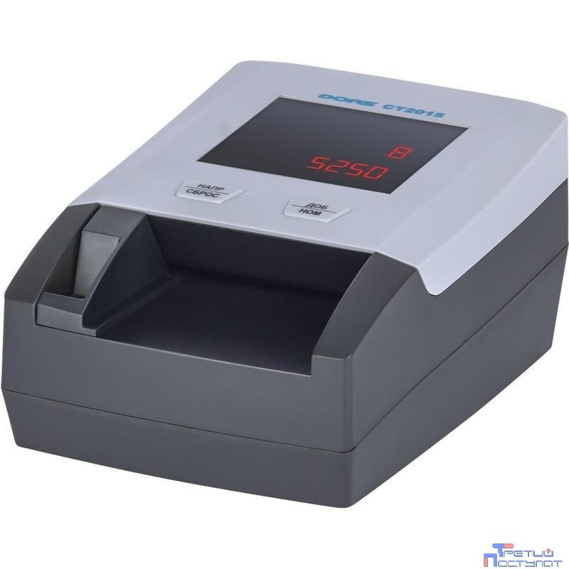Dors CT2015 [SYS-040210/SYS-041283] Детектор банкнот просмотровый рубли