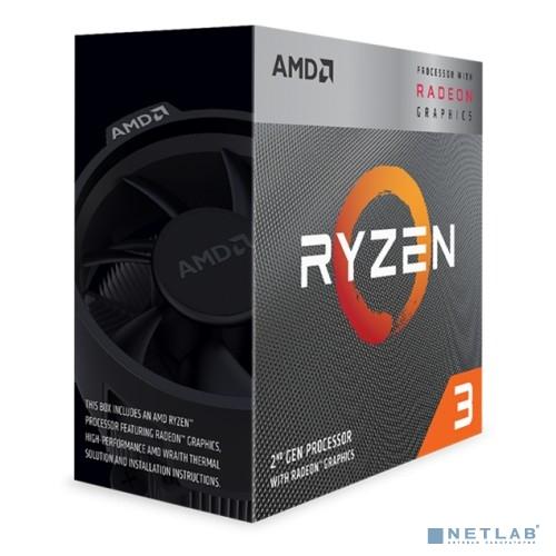 CPU AMD Ryzen 3 3200G BOX {3.6GHz/Radeon Vega 8}