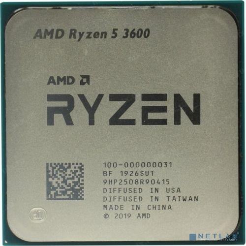 CPU AMD Ryzen 5 3600 OEM {3.6GHz up to 4.2GHz/6x512Kb+32Mb, 6C/12T, Matisse, 7nm, 65W, unlocked, AM4}