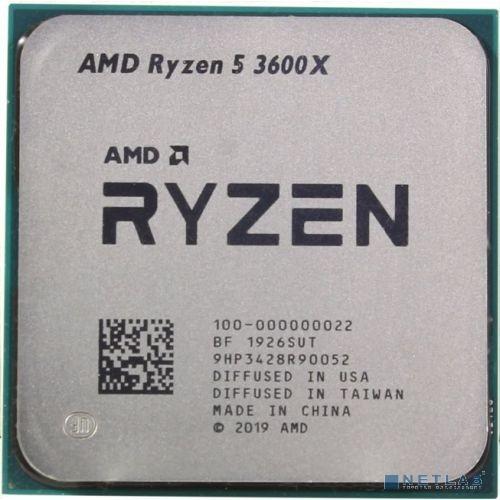 CPU AMD Ryzen 5 3600X OEM {3.8GHz up to 4.4GHz/6x512Kb+32Mb, 6C/12T, Matisse, 7nm, 95W, unlocked, AM4}