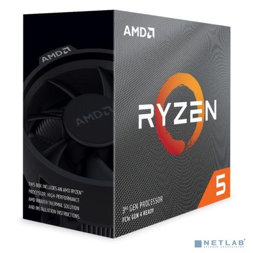 CPU AMD Ryzen 5 3600X BOX {3.8GHz up to 4.4GHz/6x512Kb+32Mb, 6C/12T, Matisse, 7nm, 95W, unlocked, AM4}