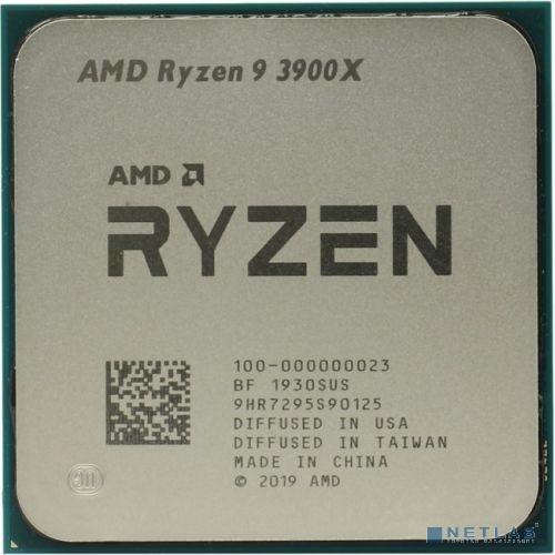 CPU AMD Ryzen 9 3900X OEM {3.8GHz up to 4.6GHz/12x512Kb+64Mb, 12C/24T, Matisse, 7nm, 105W, unlocked, AM4}