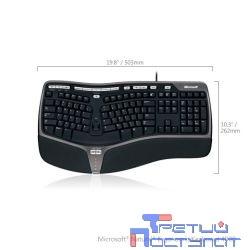 Microsoft Natural Ergonomic 4000 USB Keyboard (B2M-00020) RTL