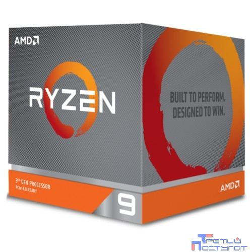 CPU AMD Ryzen 9 3900X BOX {3.8GHz up to 4.6GHz/12x512Kb+64Mb, 12C/24T, Matisse, 7nm, 105W, unlocked, AM4}