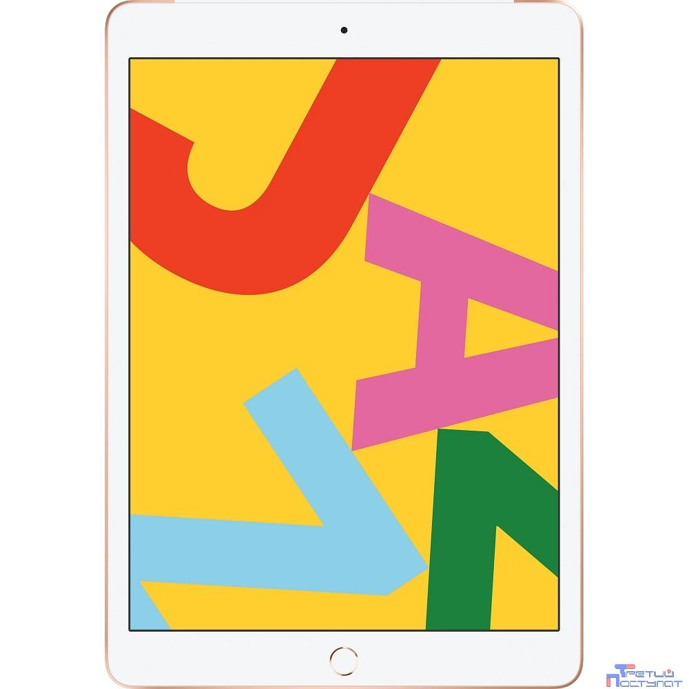 Apple iPad 10.2-inch Wi-Fi + Cellular 32GB - Gold [MW6D2RU/A] (2019)