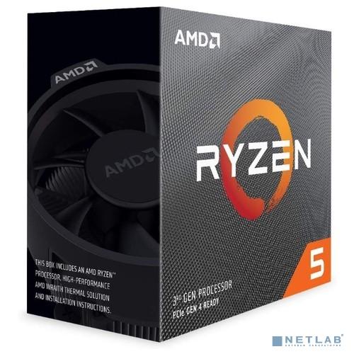 CPU AMD Ryzen 5 3600 BOX {3.6GHz up to 4.2GHz/6x512Kb+32Mb, 6C/12T, Matisse, 7nm, 65W, unlocked, AM4}