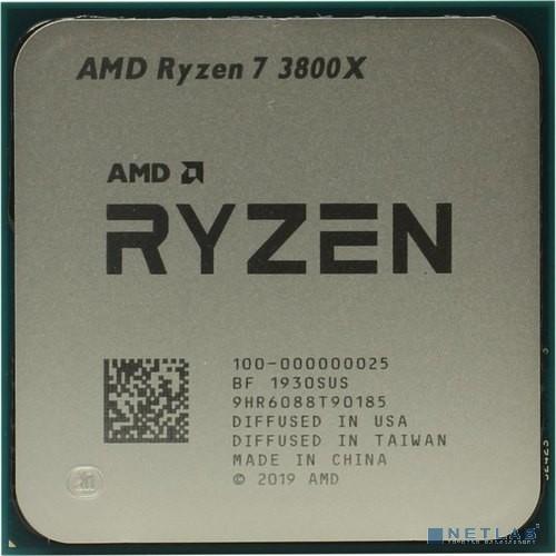CPU AMD Ryzen 7 3800X OEM {3.9GHz up to 4.5GHz/8x512Kb+32Mb, 8C/16T, Matisse, 7nm, 105W, unlocked, AM4}