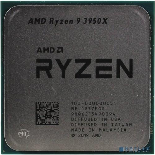 CPU AMD Ryzen 9 3950X OEM {3.5GHz, Turbo: 4.7GHz, Matisse, Кэш L2 - 8 Мб, Кэш L3 - 64 Мб, 7 нм, 105 Вт, Socket AM4}
