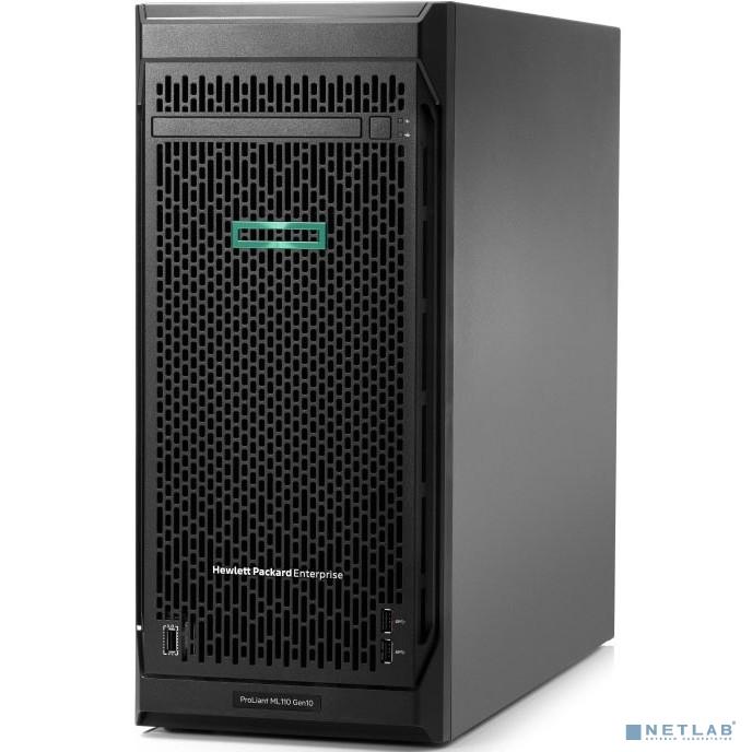 Сервер HPE ProLiant ML110 G10 1x3204 1x16Gb 3.5'' S100i 1G 2P 1x550W (P10811-421)